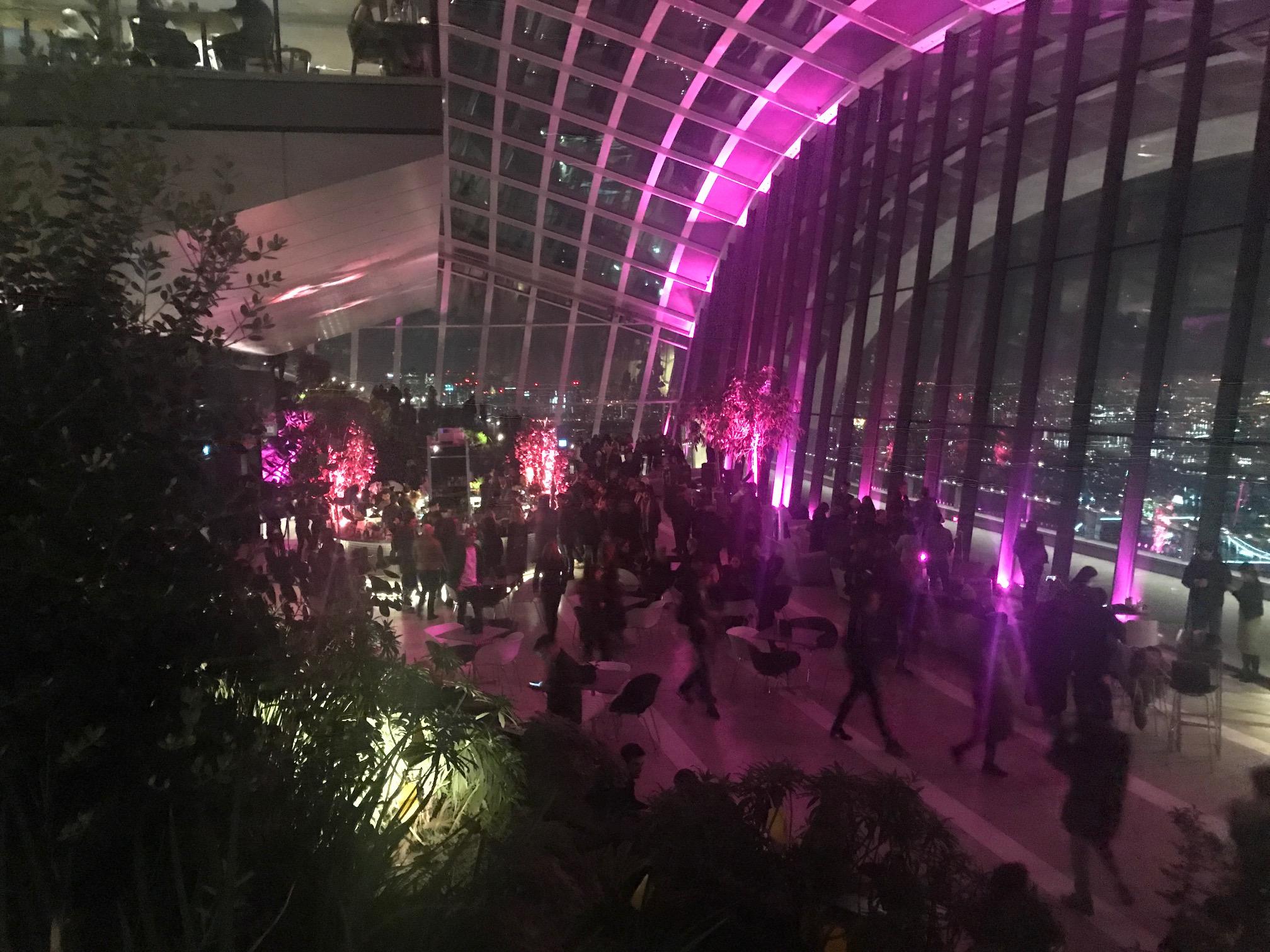 Sky Garden London Walkie Talkie