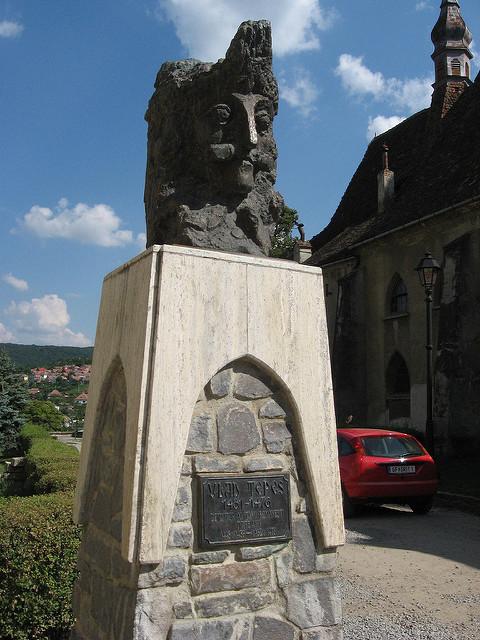 Vlad The Impaler Statue