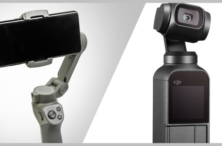 DJI Osmo Mobile VS DJI Osmo Pocket