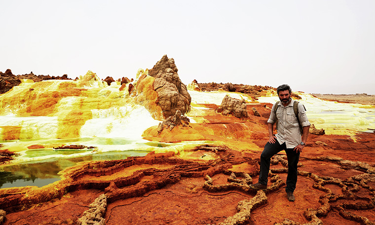 Danakil Depression the hottest place on earth