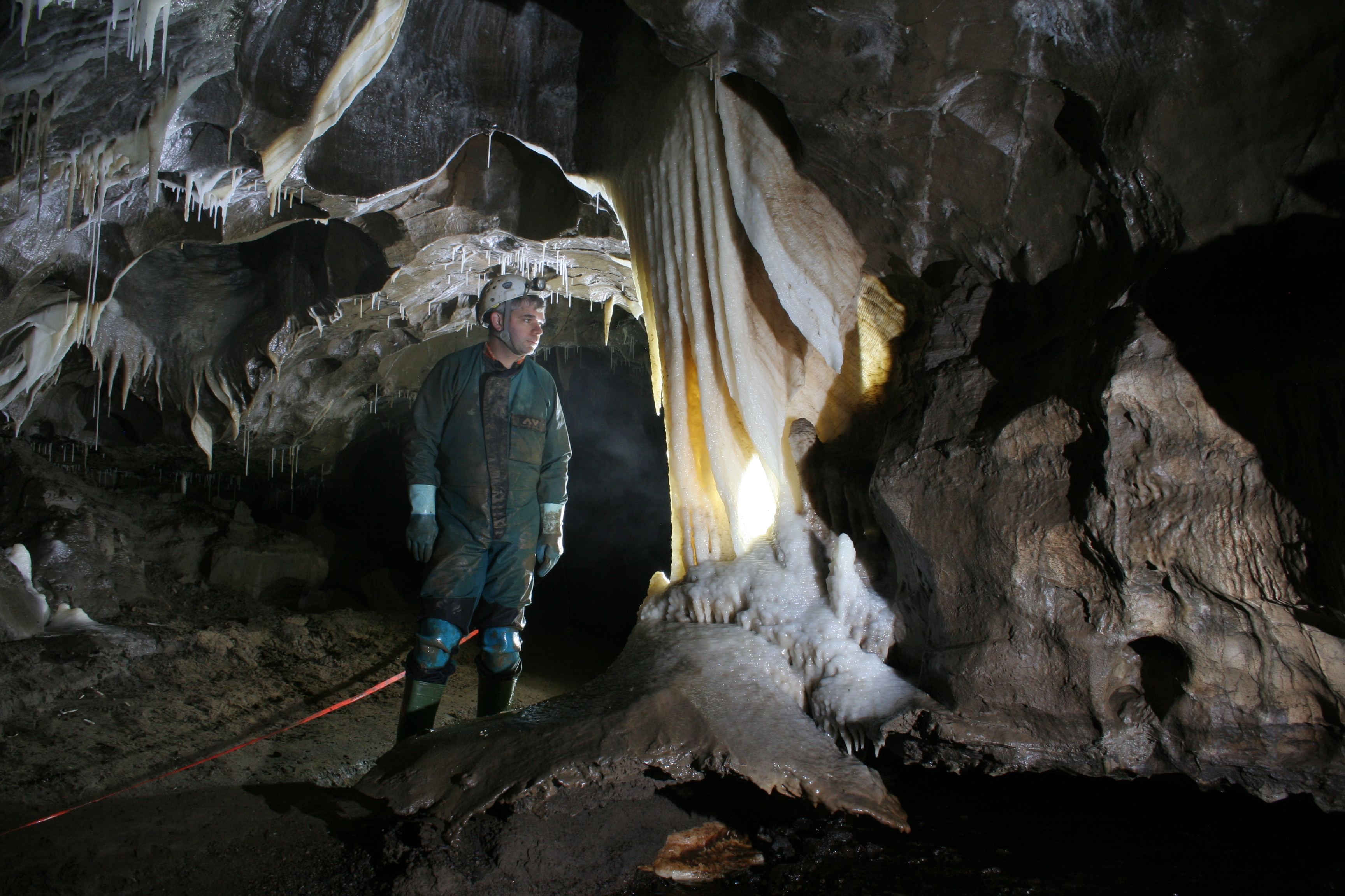 Caving Formations in Notts II, Yorkshire