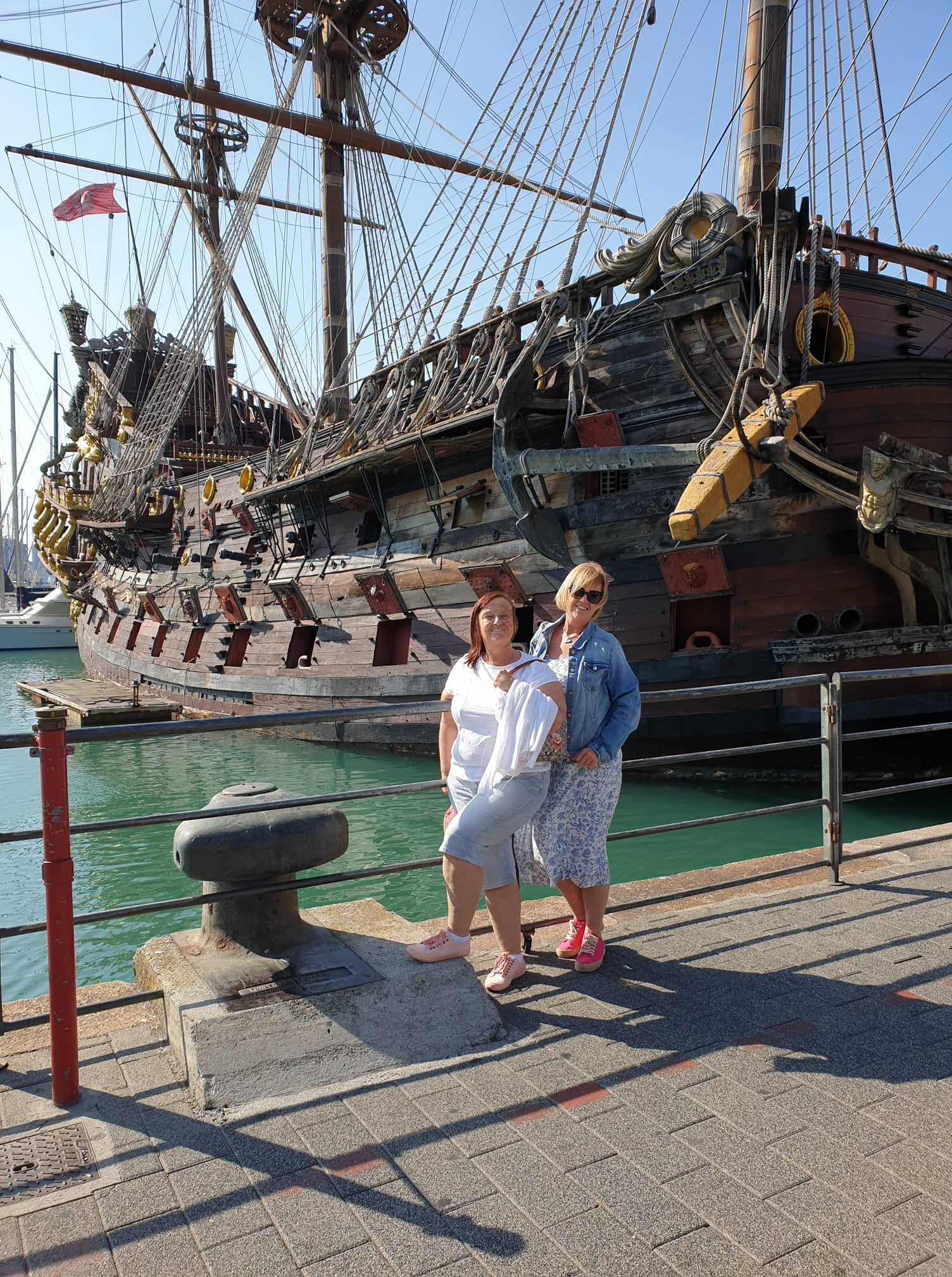 Cruise Genoa Pirate ship