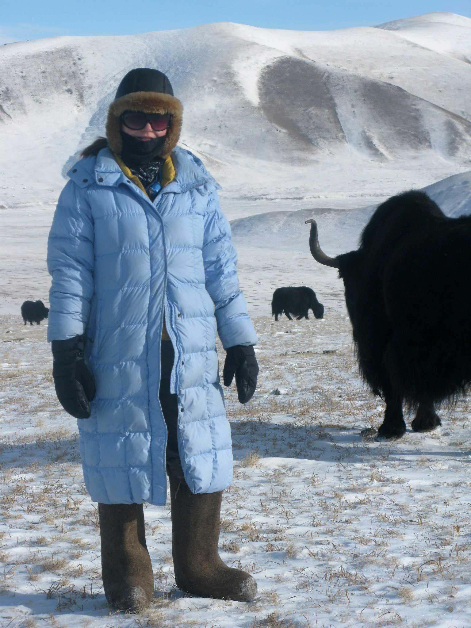 Katy Willings Mongolia