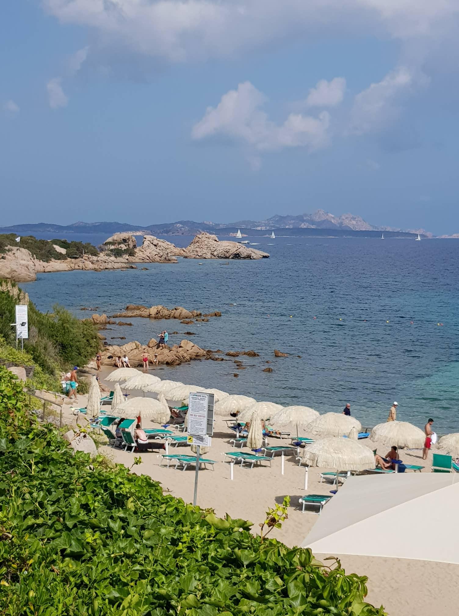 Cruise Olbia beach