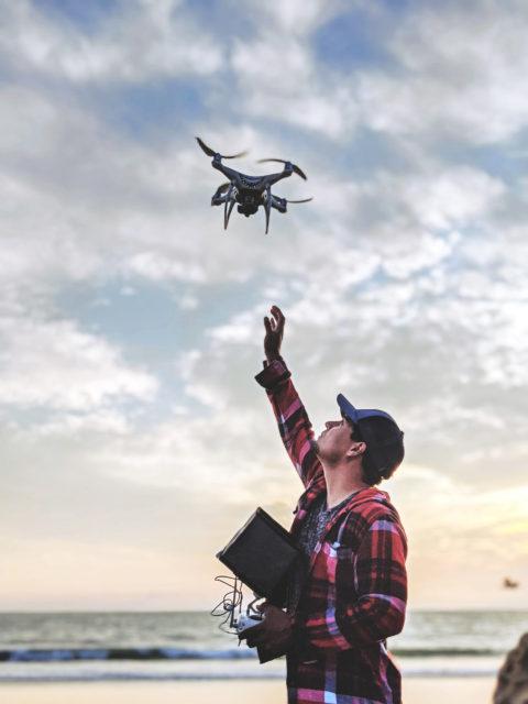 Malibu Artist Drone Pilot Carlos