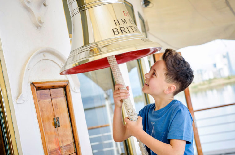 Royal Yacht Britannia Bell