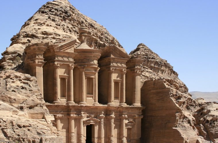 The rose city of Petra