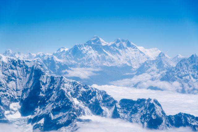 mountain everest tallest in world