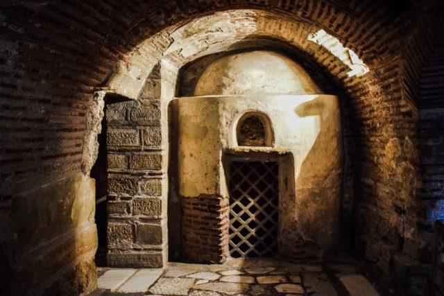 Naples catacombs