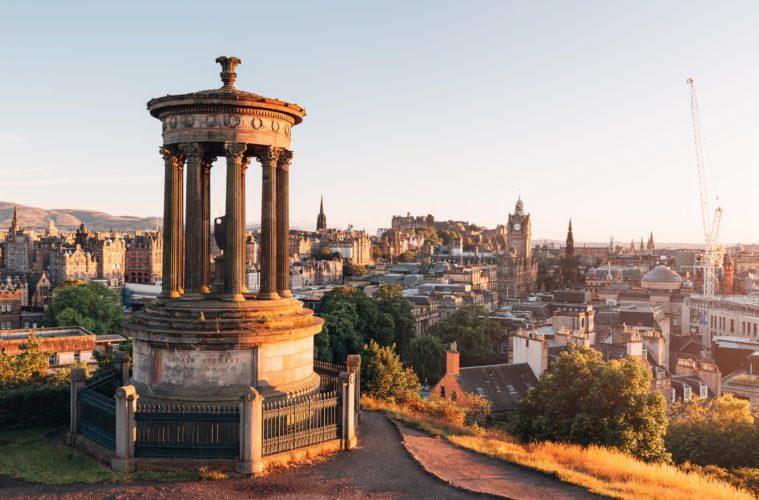 City of Edinburgh Scotland
