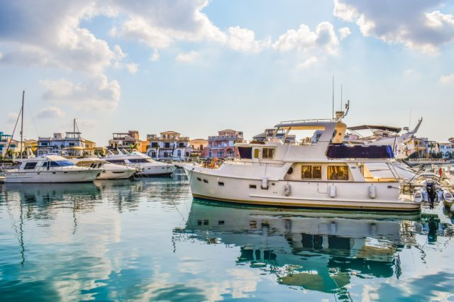 boats in Limassol