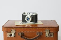 camera suitcase travel packing