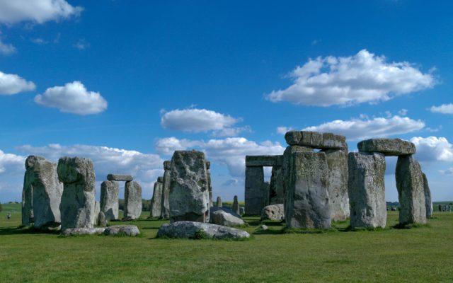 UK landmarks Stonehenge