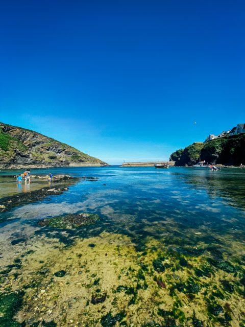 sunny day Port Isaac
