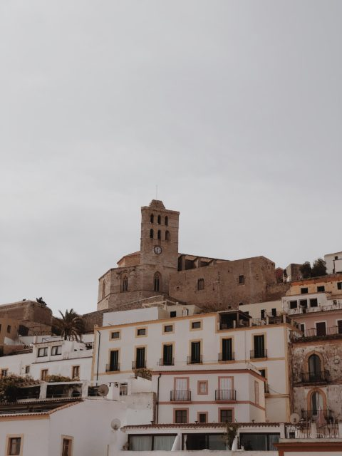 Ibiza with cathedral