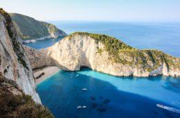 Zakynthos Island Greek Ionian Sea
