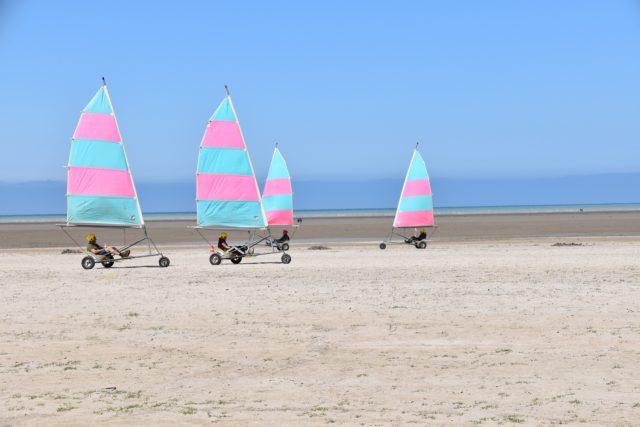 landsailing wind sport landcraft blokart