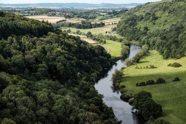 autumn wye valley forest dean