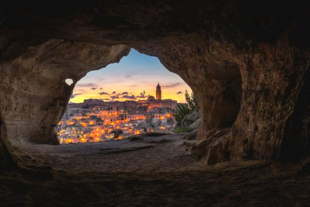 caves in matera