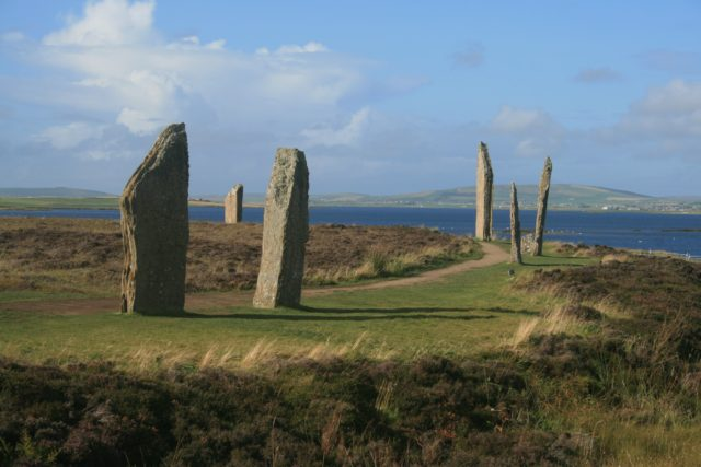 Stone Circle Orkney