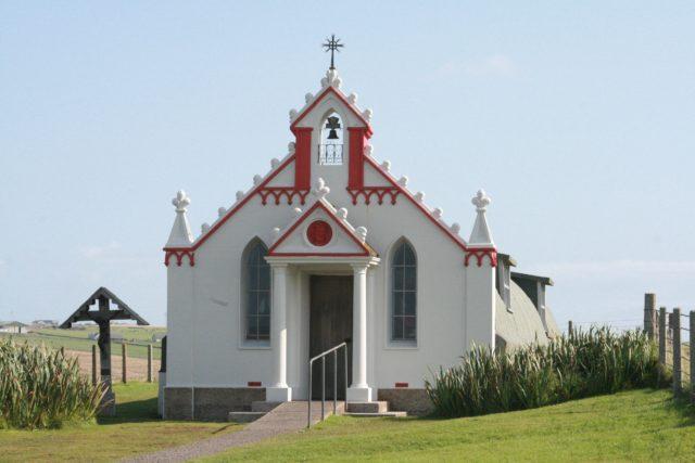 Kirkwall Chapel Orkney Islands