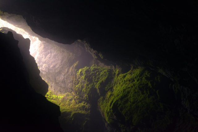 wales cave