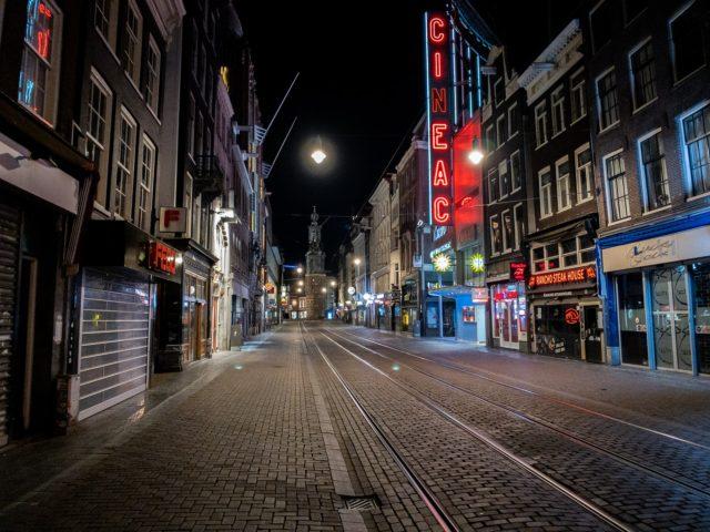 Amsterdam COVID lockdown