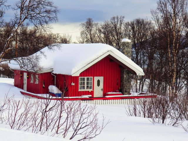 lapland red house